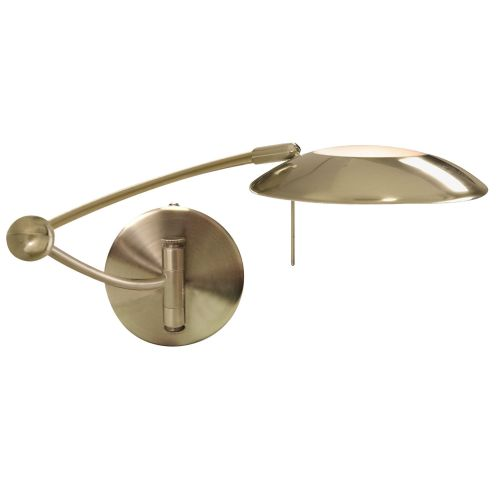 Adjustable Swing Arm Wall Bracket, Antique Brass 9851Ab